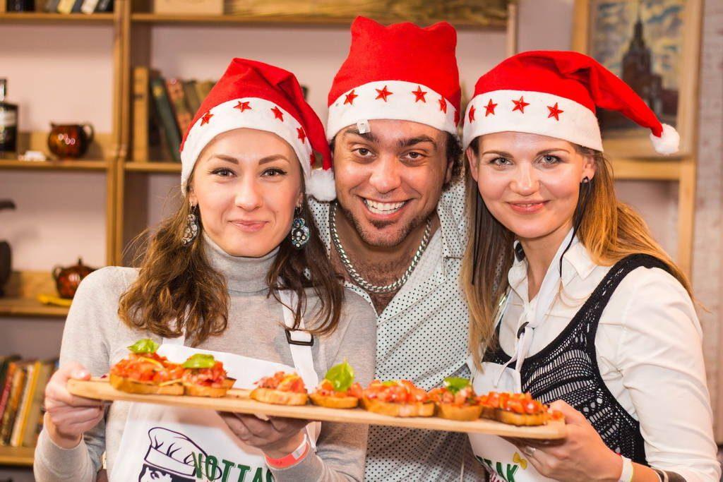 Итальянская рождественская вечеринка в Москве