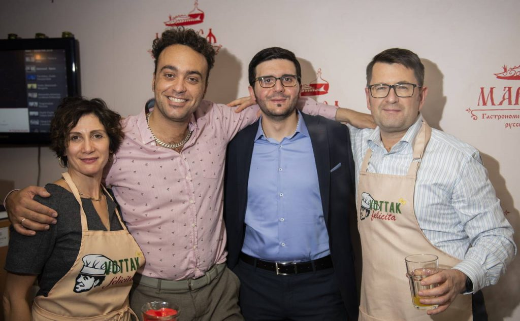 Фотоотчет с «Gastronomic Tour around Italy» 9 октября
