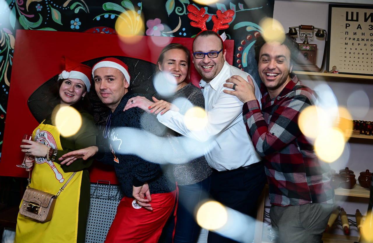 Фотоотчет «Italian Christmas Party» 13/12